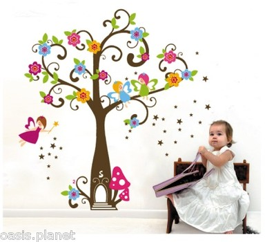 kid-angels-tree-home-flowers-wall-stickers-paper-nursery-children-girls-room-2606-p